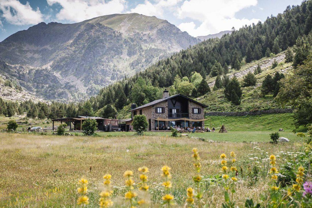 L´Ovella Negra Andorra en verano