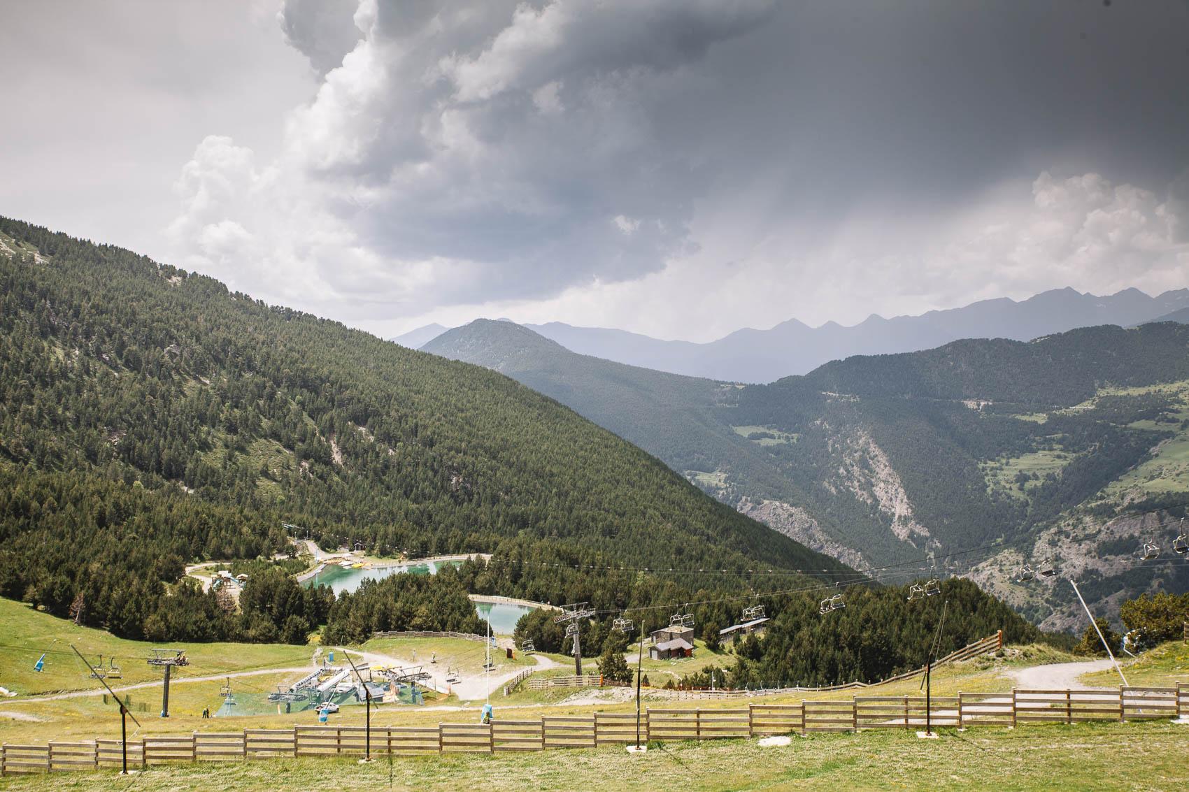 Andorra en verano Montmagic