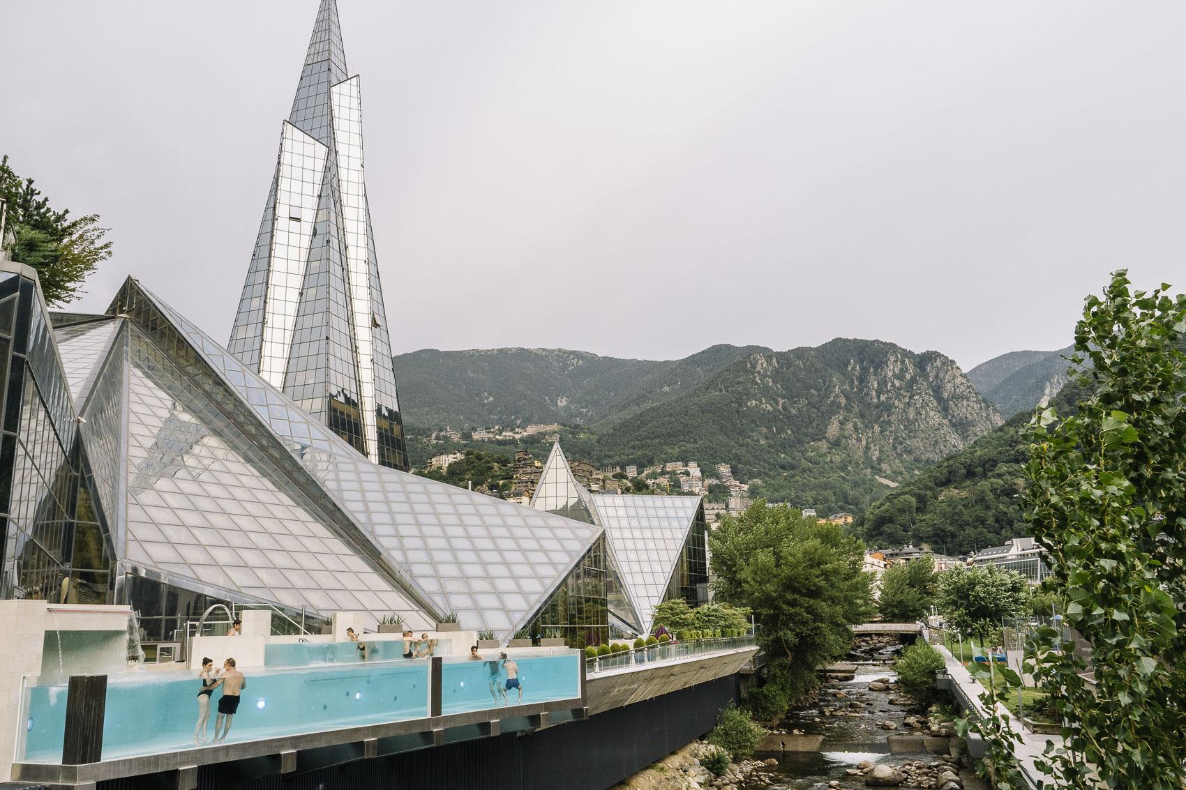 Caldea Andorra en verano