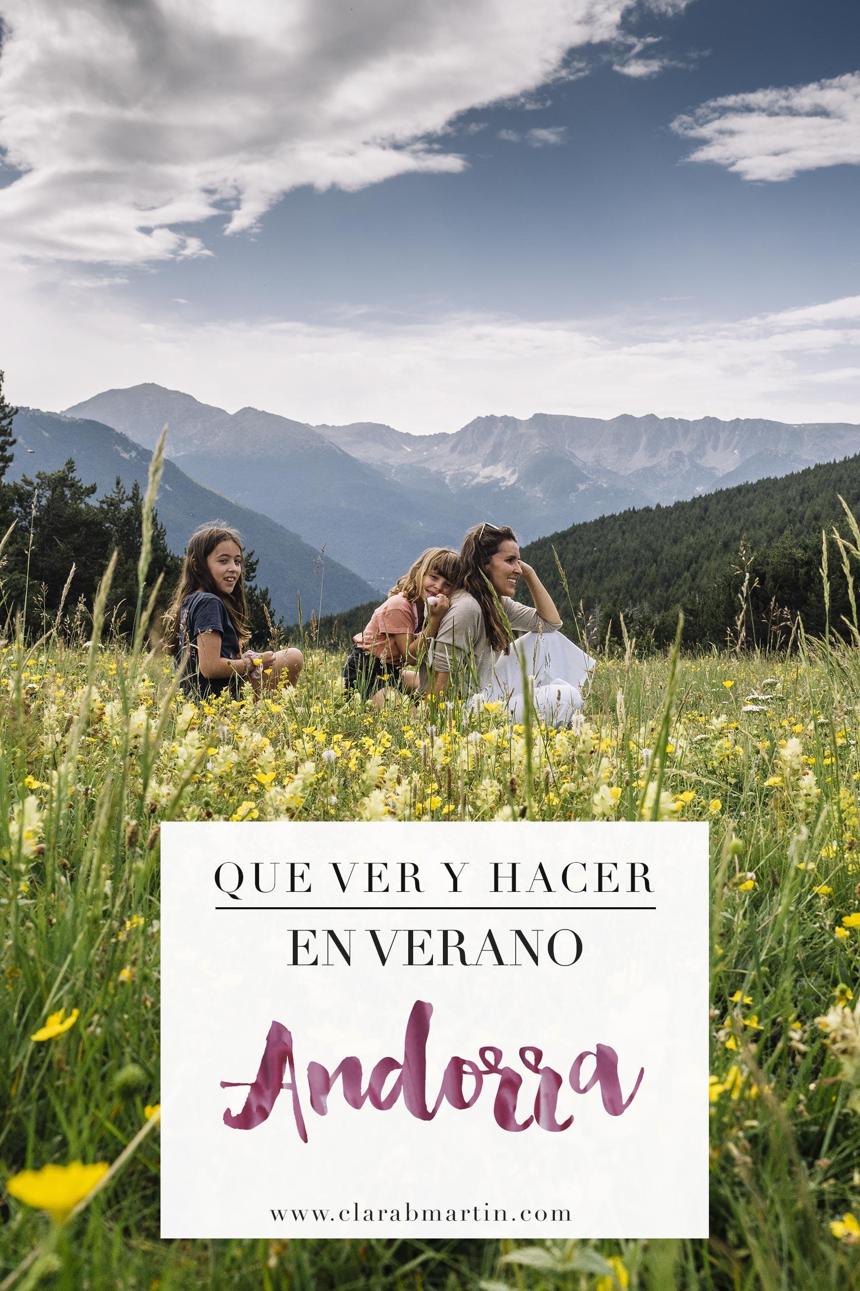 Andorra en verano con niños: Qué ver y hacer