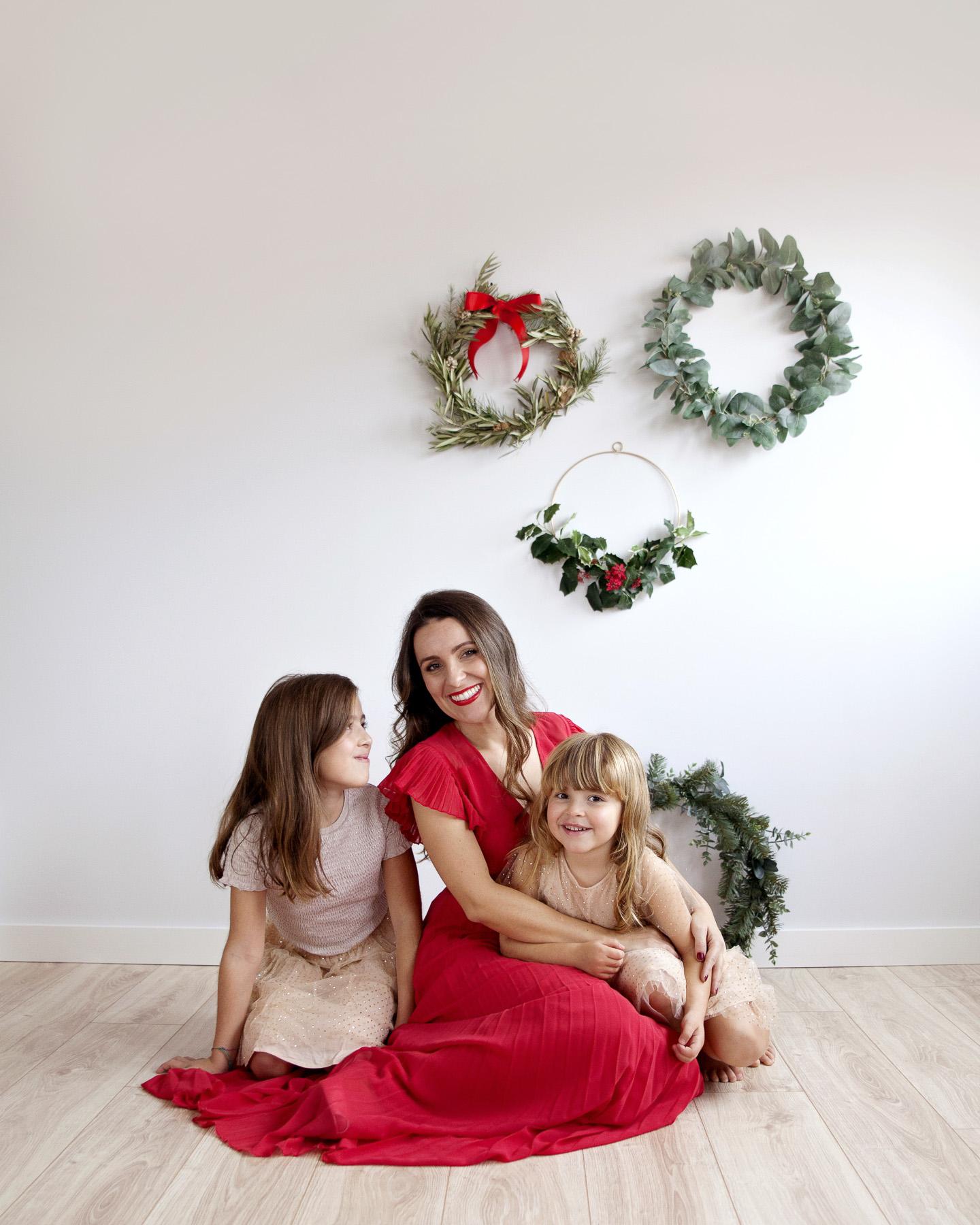 como hacer tus fotos navideñas en casa